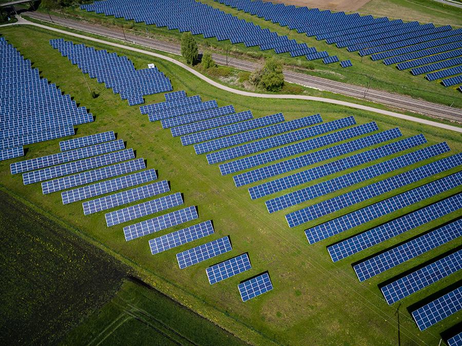 Energía Solar Granja
