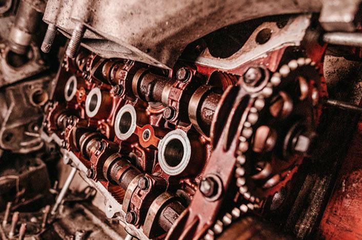 motor de electrodoméstico sin reciclar