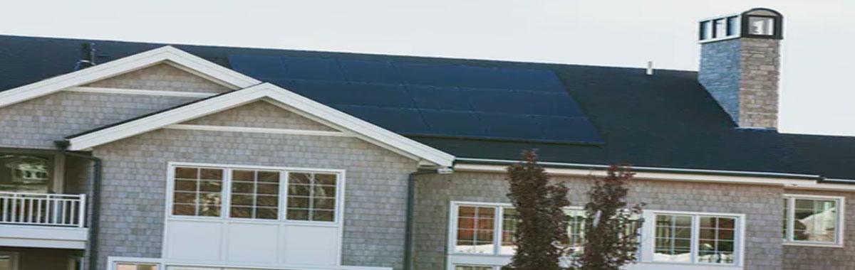 casa con celula solar