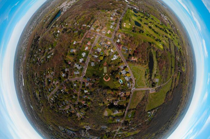 Bola del mundo en versión 3D
