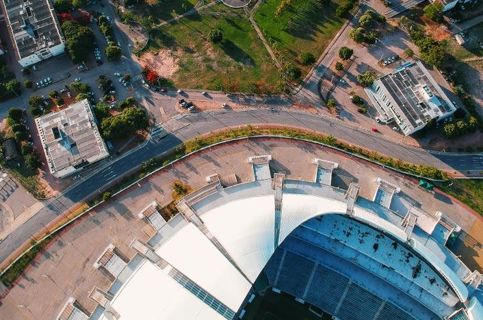 Estadio de fútbol mundial de Brasil