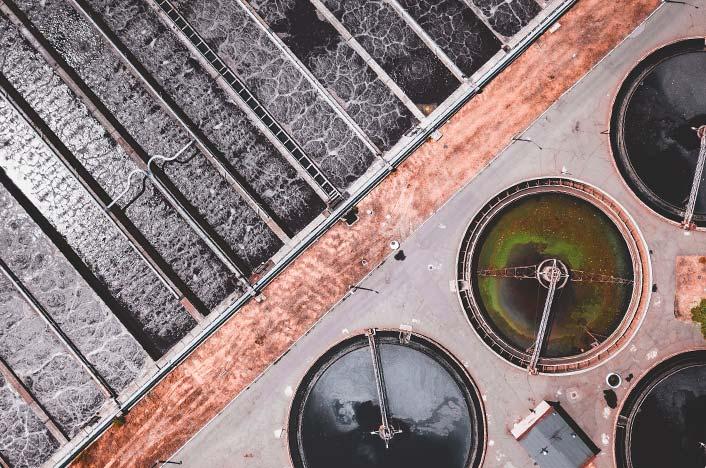 Planta de tratamiento de agua reutilizada