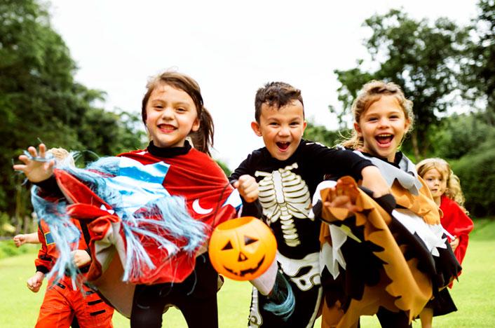 Disfraces ecológicos para Halloween