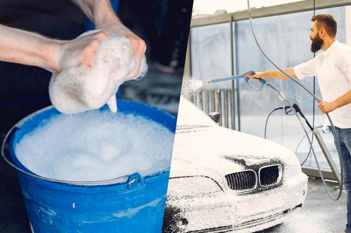 lavar coche