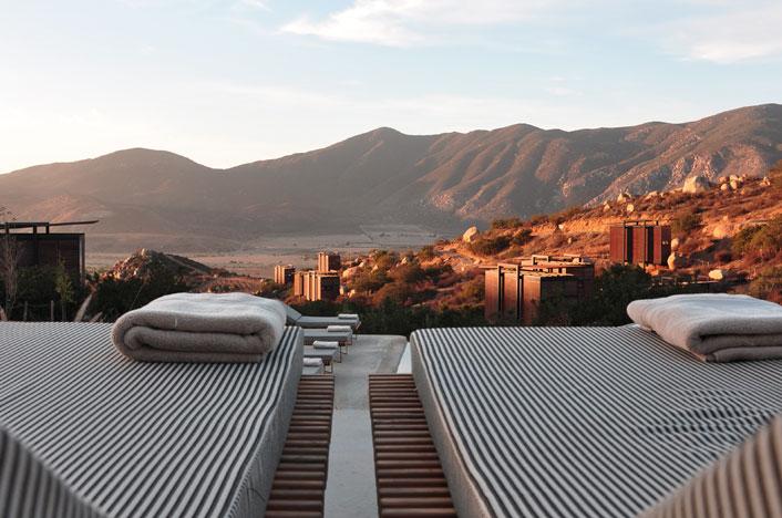 Vistas desde un hotel con eficiencia energética