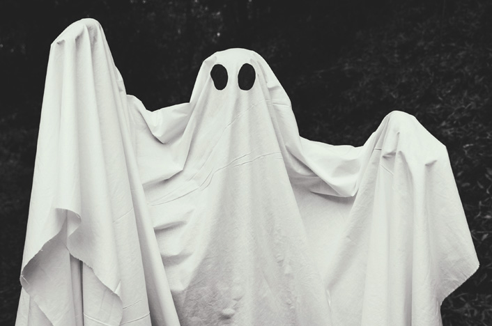fantasma decorativo para halloween