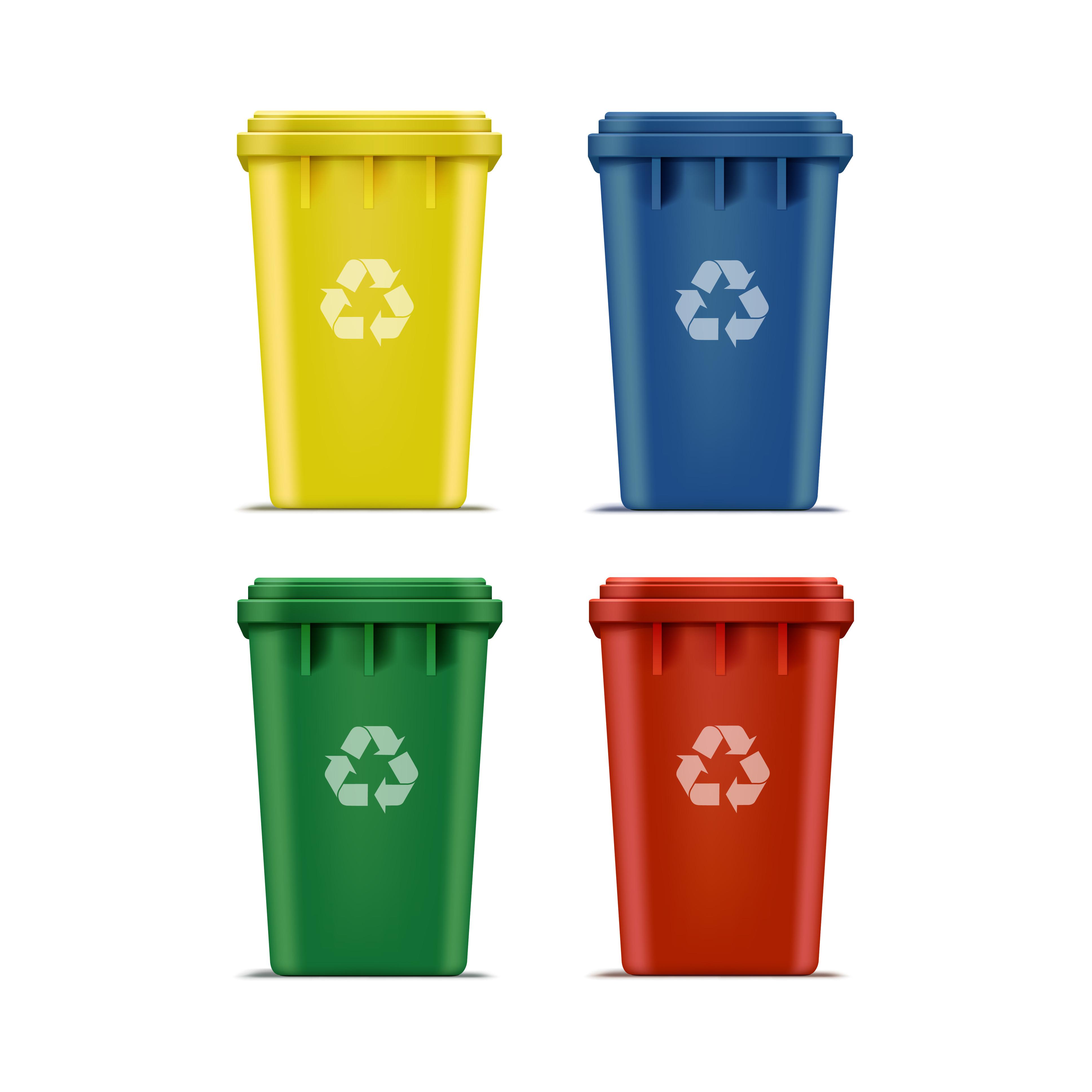 Recipientes para reciclar