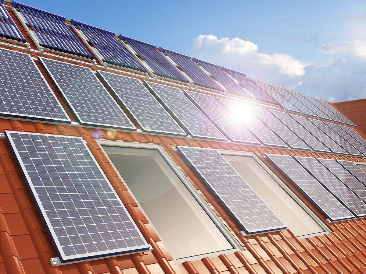 Solución Integral Fotovoltaica en el tejado de una vivienda