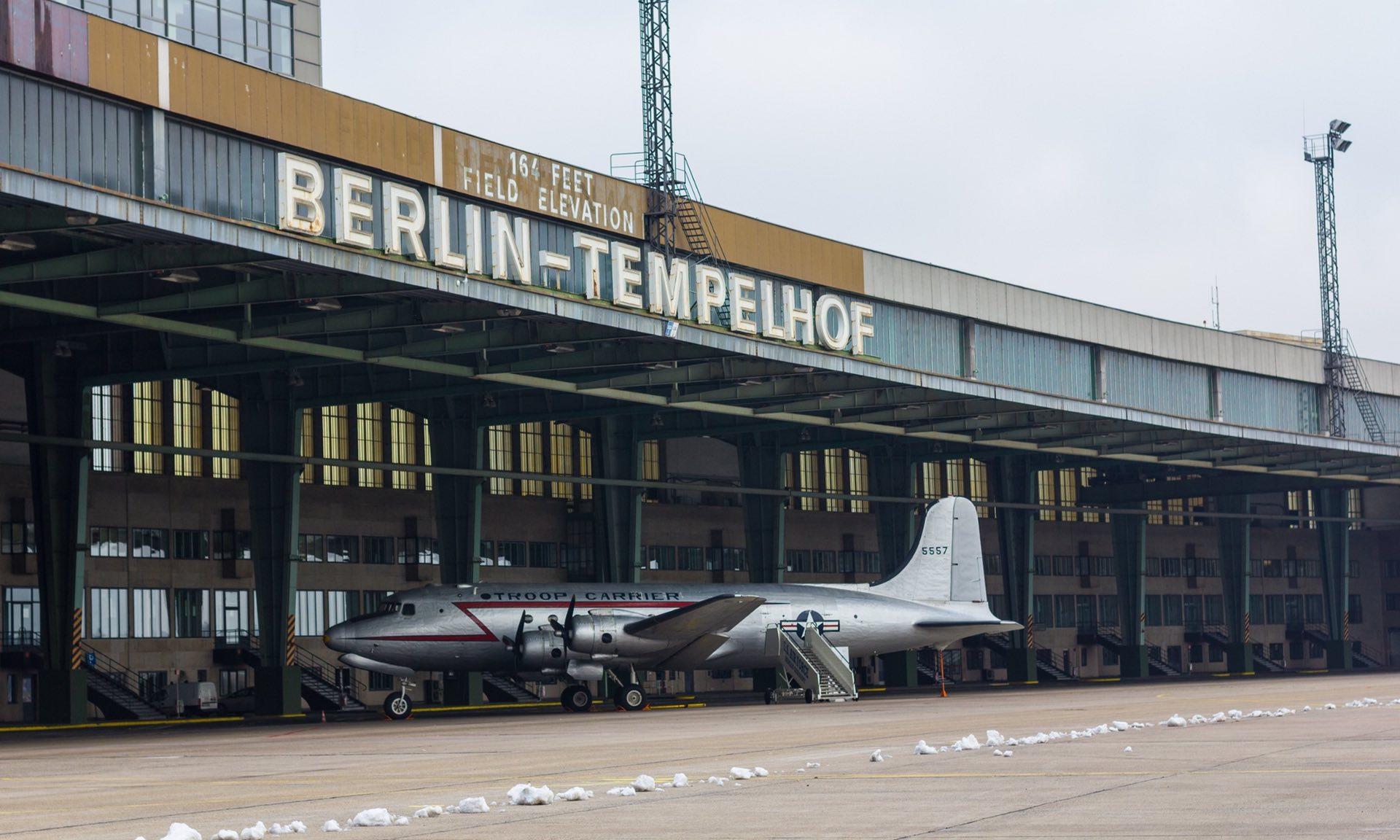 Aeropuerto de Tempelhof en la antigüedad