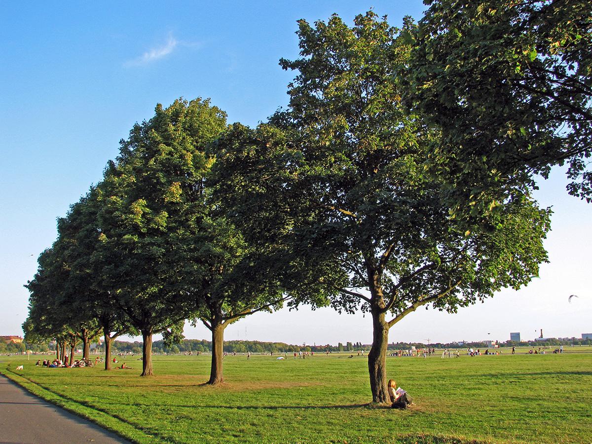 Aeropuerto Tempelhof convertido en parque