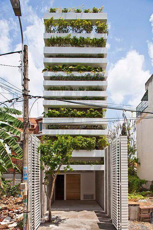 Edificio ecológico en Vietnam