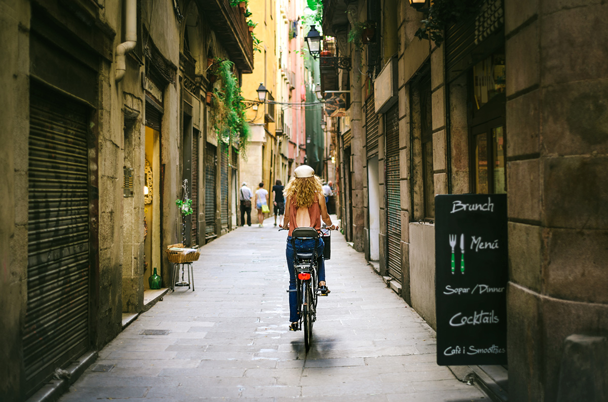 Bicicleta en la ciudad