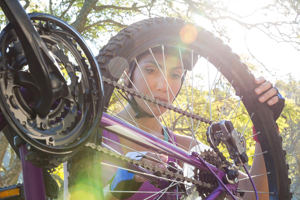 Reparación básica de una bicicleta