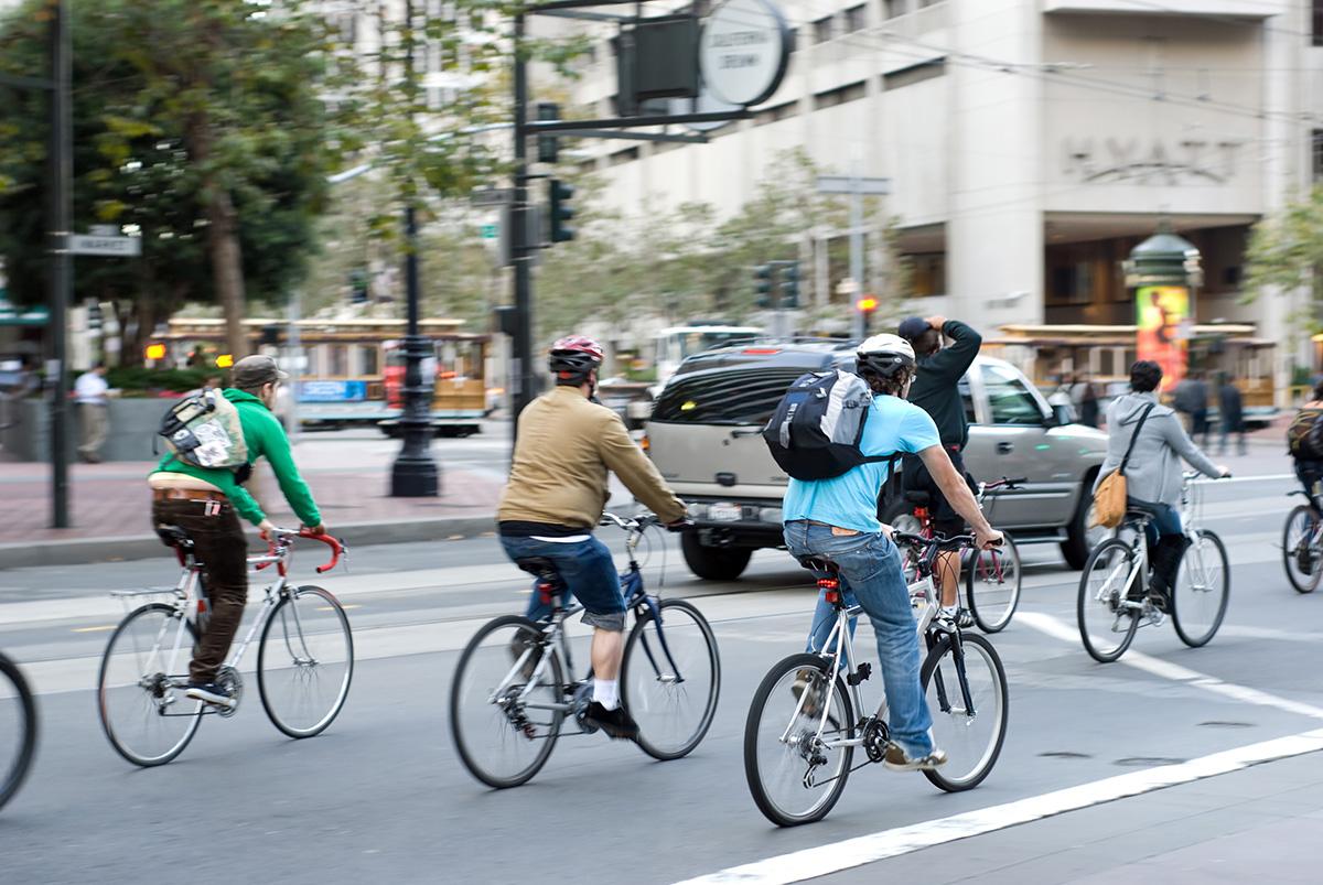 Bicicletas en las grandes ciudades