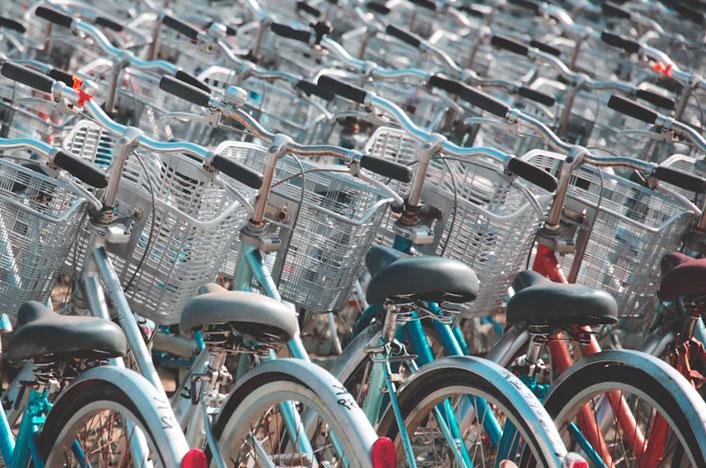 bicicletas aparcadas