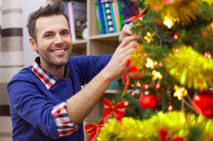 Reducir el gasto energético en Navidad