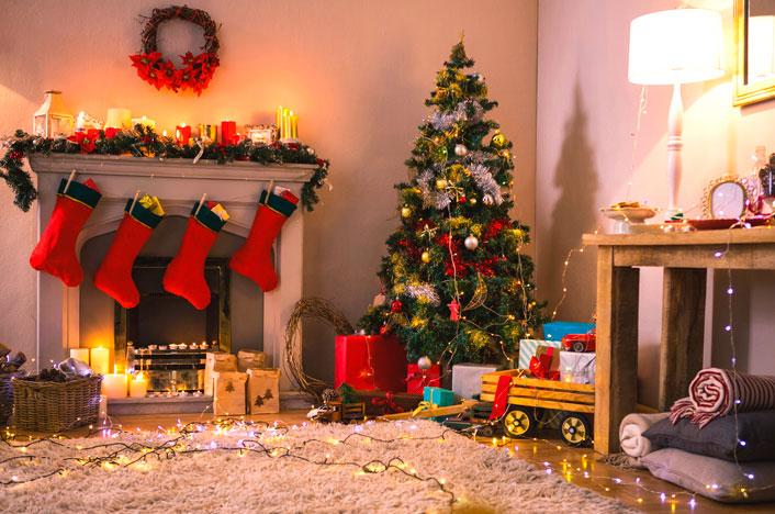 gasto energético en Navidad