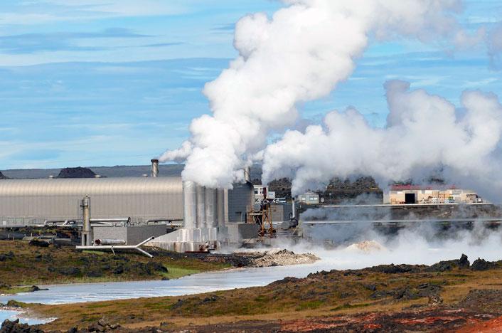 Emisiones tóxicas que emana la energía geotérmica
