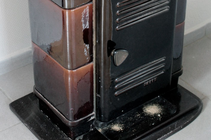 estufas de hueso de aceituna