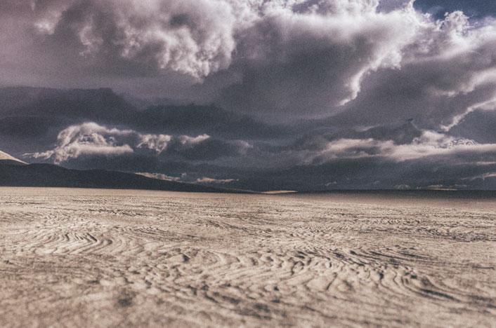 Consecuencias del déficit hídrico - Desierto