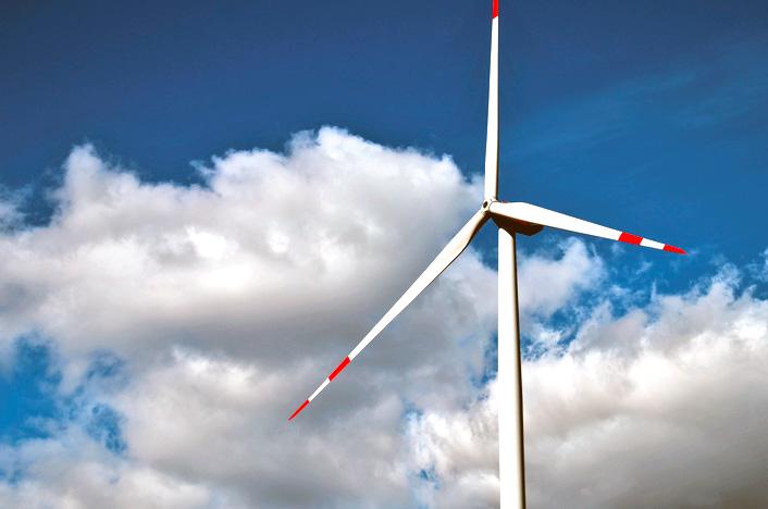 Molino de viento o aerogenerador