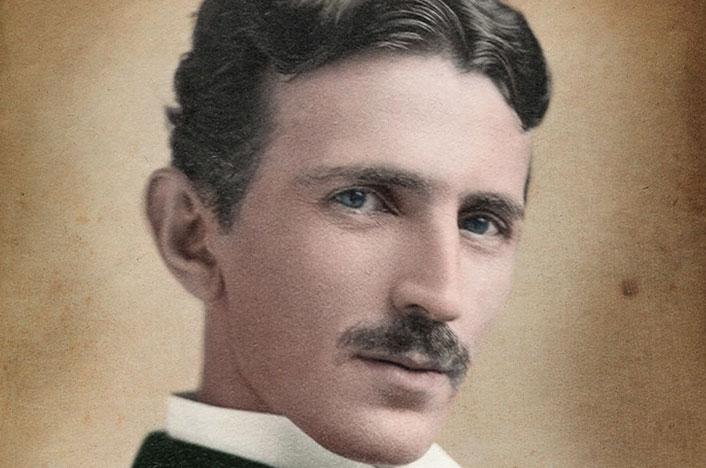 Fotografía de Nikola Tesla