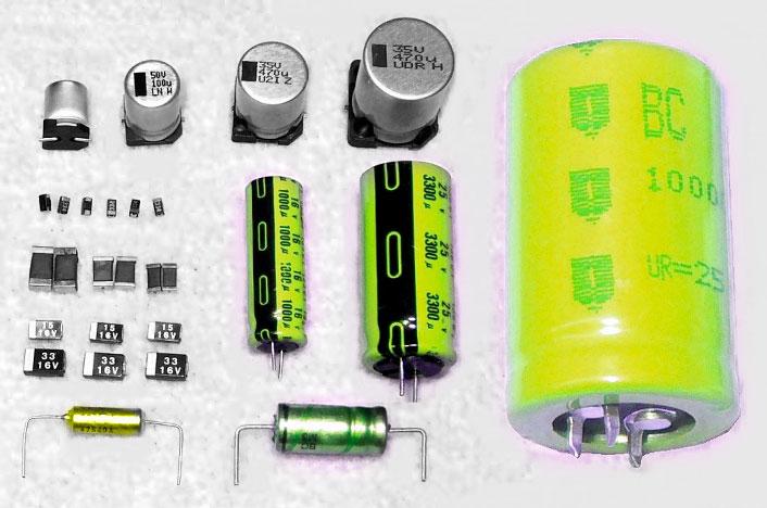 Partes de los supercondensadores