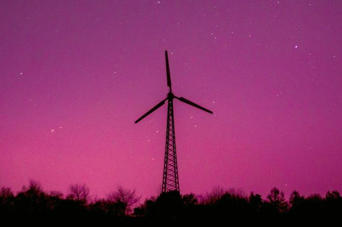 Molino de viento, una forma de obtener recursos renovables