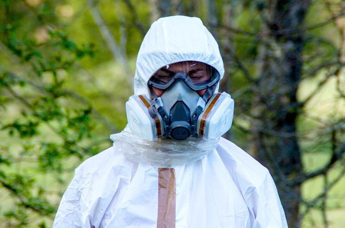 Cómo prevenir la contaminación química