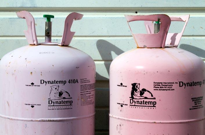 Bombona de gas de biodigestor