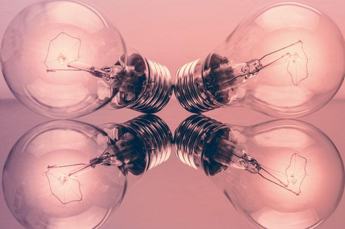 Posibilidad uso piezoelectricidad en bombillas