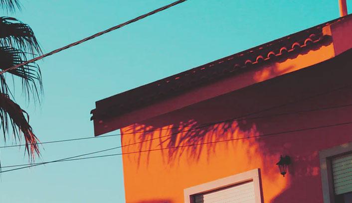 Casa con Electricidad
