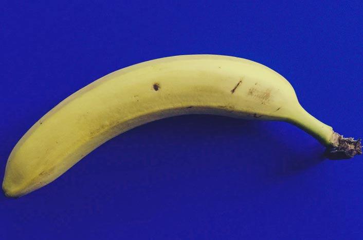 Materia orgánica de plátano a reciclar