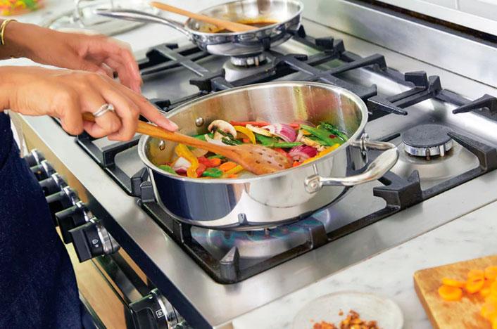 Usar energía eficazmente en la cocina