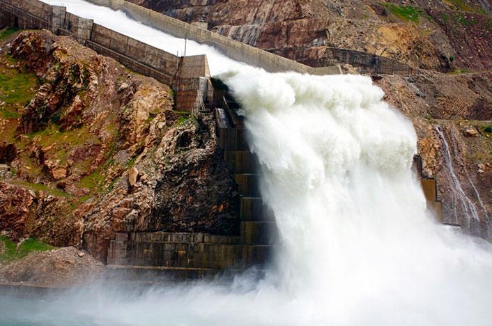 Central o presa hidroeléctrica