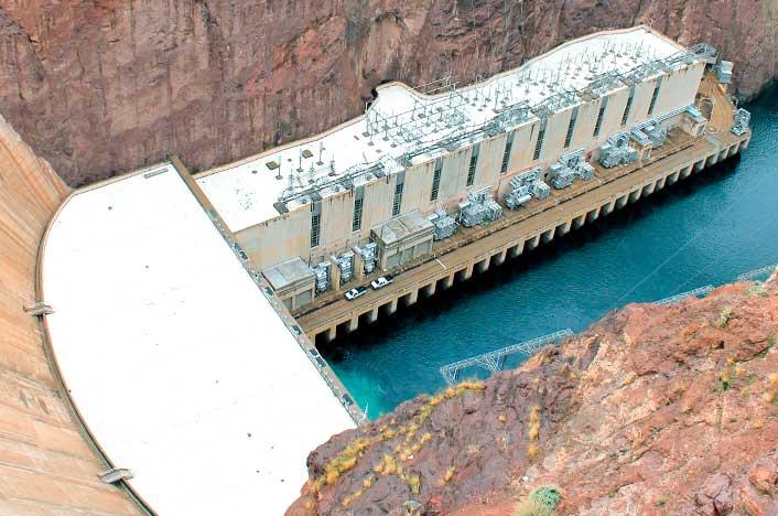 Las presas hidroeléctricas están en zonas retiradas