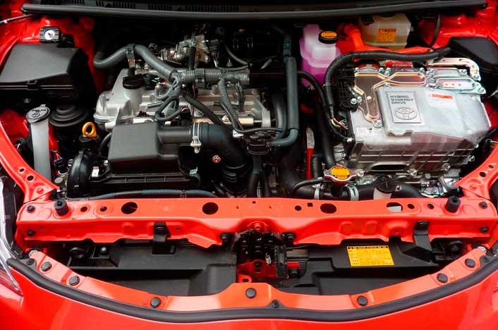 Motor del Prius Toyota