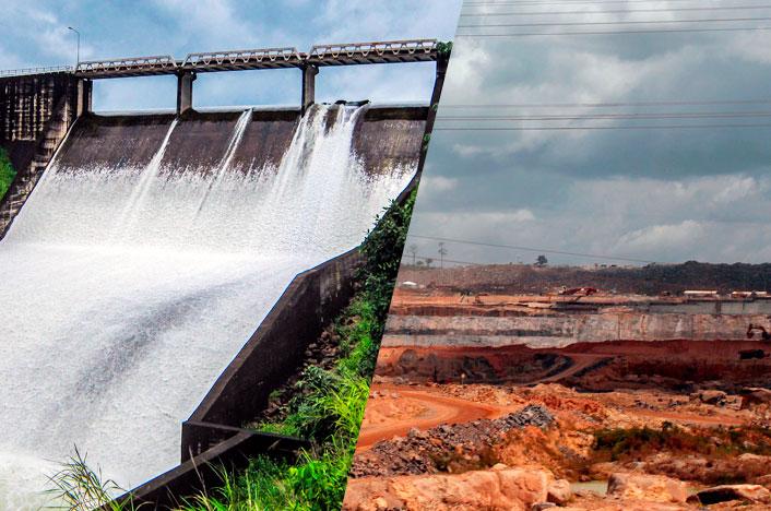 La sequía afecta a las presas hidroeléctricas