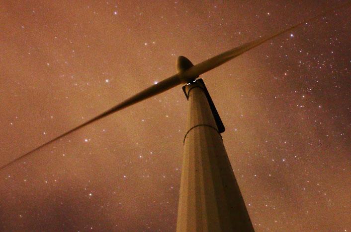 ¿Cómo funcionan los molinos de viento?