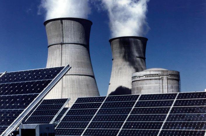 Central de energía solar térmica