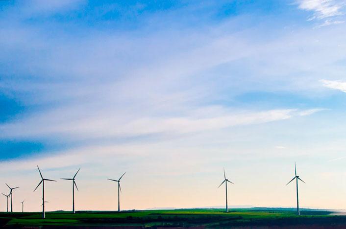 parque energía eólico