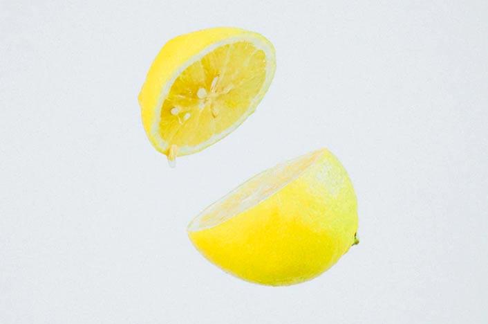 Limón para hacer desodorante casero