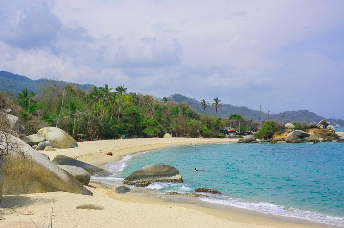 Playa Parque Tayrona