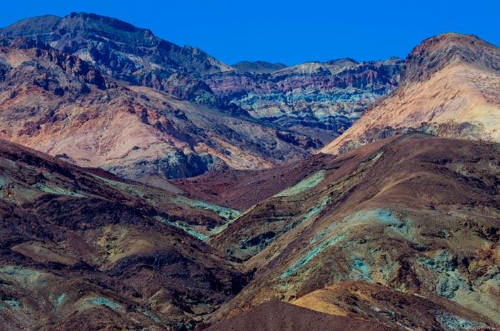 Erosión del suelo en montañas