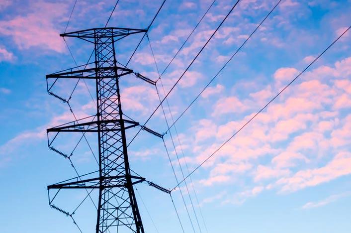 Red de distribución eléctrica
