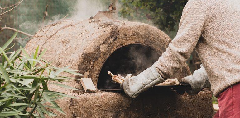 Horno de leña sostenible