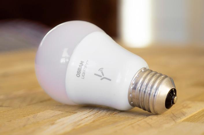 ahorro energético con bombillas inteligentes