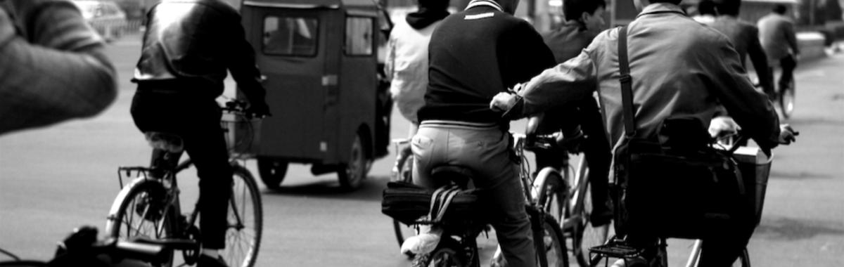 Medios de transporte alternativos en Pekín