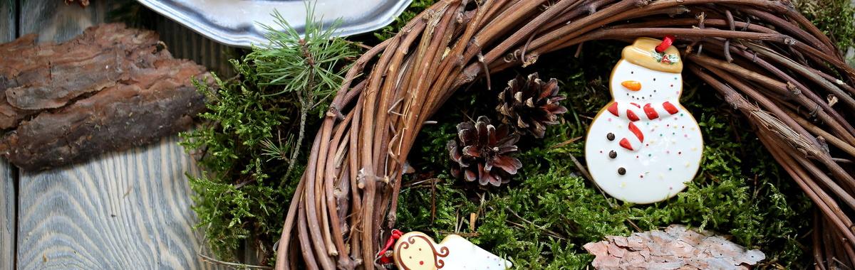 Limitar el uso de musgo en la decoración navideña