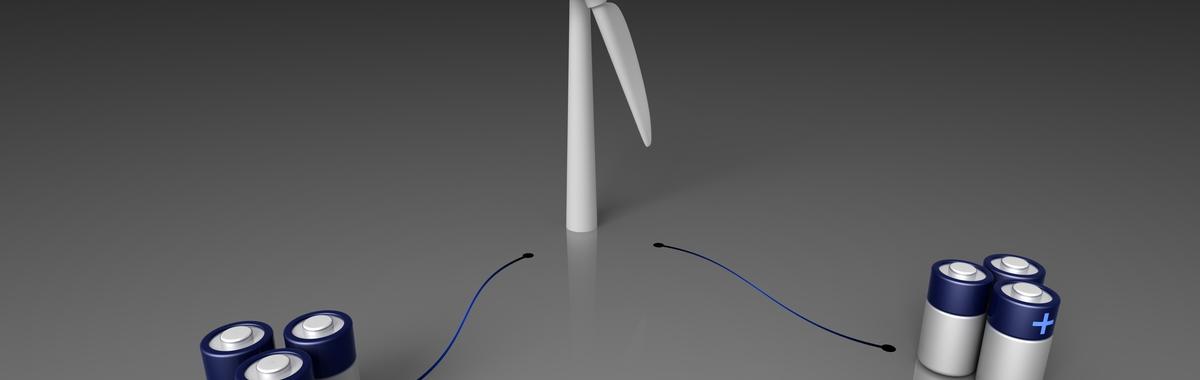 Baterías para la energía eólica